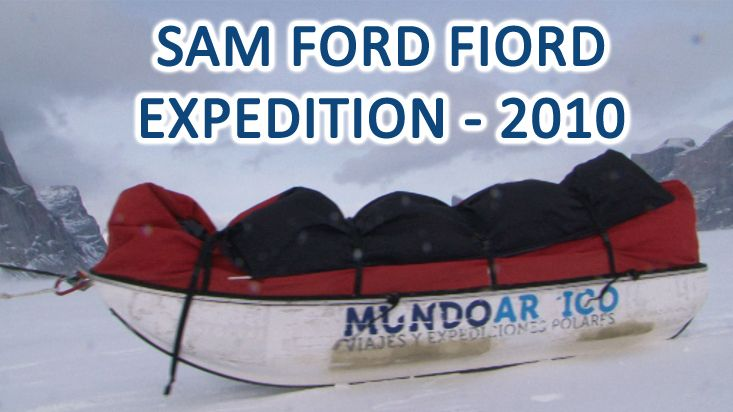 Sam Ford Fiord expedition - 2010