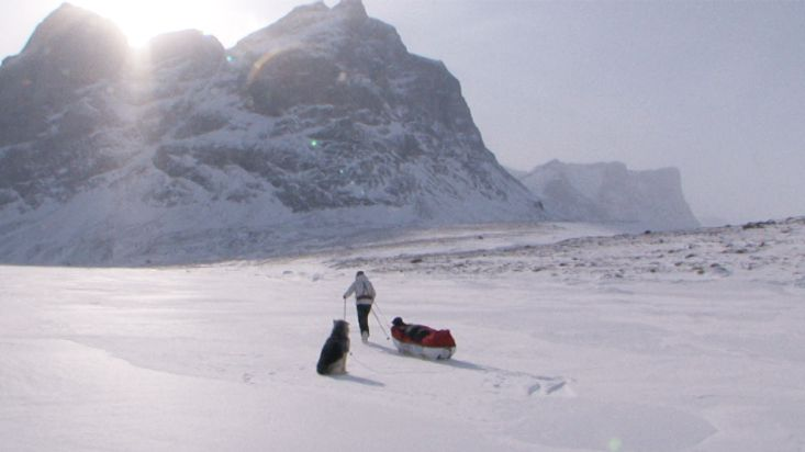 Beginning of the Sam Ford Fiord 2010 Expedition - Sam Ford Fiord 2010 expedition