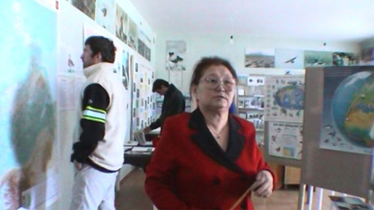 Arctic nature in the Khatanga's museum - Georgaphic North Pole 2002 expedition